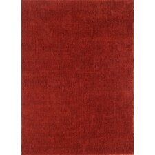 Cloud Cranberry Shag Rug
