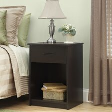 <strong>Ameriwood Industries</strong> 1 Drawer Nightstand