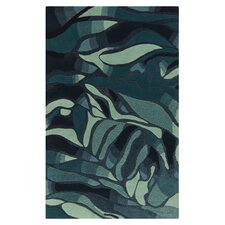 Destinations Midnight Blue/Cameo Blue Area Rug