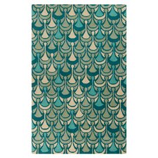 Destinations Teal/Aqua Area Rug