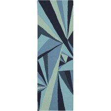 Voyages Blue/Multi Geometric Rug