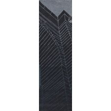 Destinations Coal Black/Light Gray Area Rug
