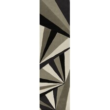 Destinations Coal Black/Oyster Gray Area Rug