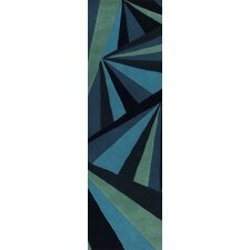 Destinations Midnight Blue/Malachite Green Rug