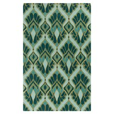 Destinations Teal/Light Aqua Area Rug