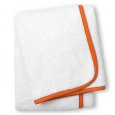 Orange Piped Hand Towel