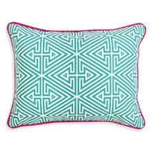Bobo Triangle Labyrinth Throw Pillow