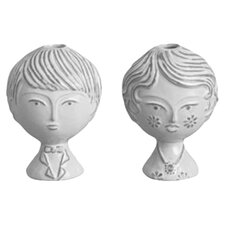 Boy & Girl Vase (Set of 2)