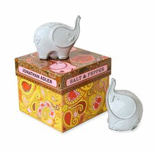 Elephants Salt and Pepper Mills