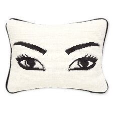 Eyes Needlepoint Pillow