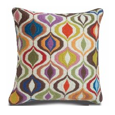 <strong>Jonathan Adler</strong> Bargello Waves Wool Pillow