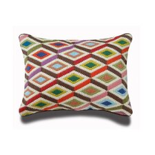 <strong>Jonathan Adler</strong> Bargello Diamonds Wool Pillow
