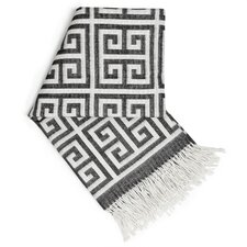 <strong>Jonathan Adler</strong> Greek Key Wool Throw