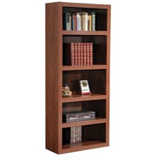 "Charles Harris 72"" H Bookcase in Dark Cherry"