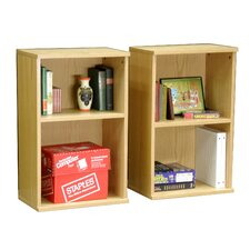 "<strong>Rush Furniture</strong> Heirloom 30"" Bookcase (Set of 2)"
