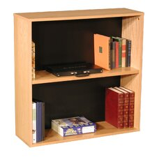 "Modular Real 36"" H Bookcase in Oak Wood Veneer"