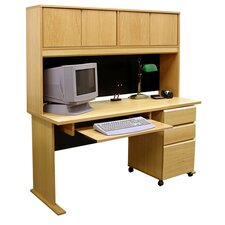 <strong>Rush Furniture</strong> Office Modulars Standard Computer Desk Office Suite