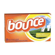 <strong>Bounce®</strong> Fabric Softener Sheet with Fresh Outdoor Scent