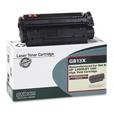GB13X (Q2613X) Laser Cartridge, High-Yield, 4000 Page-Yield, Black