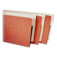 "File Pocket, 3-1/2"" Expansions, 9""x14-3/4"", Redrope/Manila"