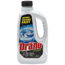 Liquid Drain Cleaner Unscented Bottle