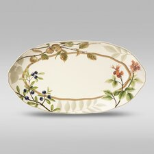 "Berries and Brambles 15"" Oval Platter"