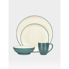 Colorwave Coupe 16 Piece Dinnerware Set