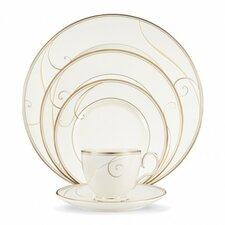 Golden Wave 5 Piece Place Setting