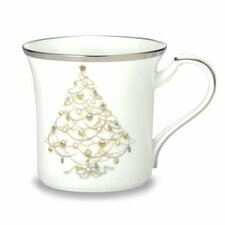 Palace Christmas Platinum 12 oz. Accent Mug (Set of 4)