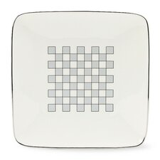 "Aegean Mist 7.5"" Square Small Accent Plate"