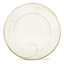 "Golden Wave 9.5"" Dessert Plate"