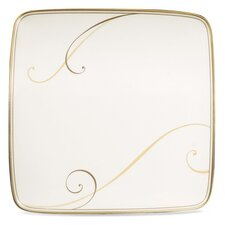 "Golden Wave 7.5"" Small Square Accent Plate"