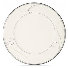 "Platinum Wave 11"" Dinner Plate"