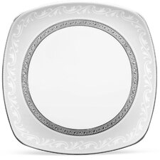 "Crestwood Platinum 8.75"" Square Luncheon Plate"