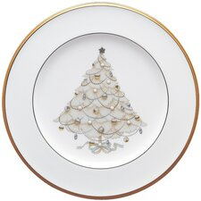 "Palace Christmas Gold 8.5"" Holiday Accent Plate"