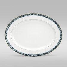 "Pearl Majesty 14"" Oval Platter"
