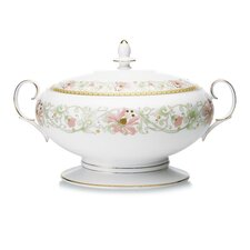 Blooming Splendor 70 oz. Covered Vegetable Dish