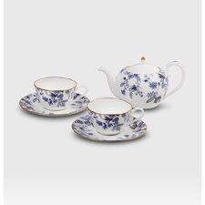 <strong>Noritake</strong> Blue Sorrentino Tea for Two Set