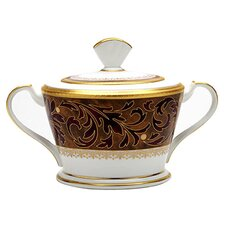Xavier Gold 12 oz Sugar Bowl with Cover