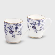 Blue Sorrentino 10 oz. Mug (Set of 2)