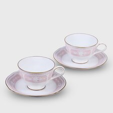 Lacewood Gold Pink Dinnerware Collection