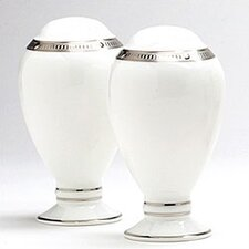 "Chatelaine Platinum 3 1/2"" Salt & Pepper Set"