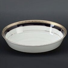 Crestwood Cobalt Platinum Vegetable Salad Bowl