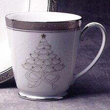 Crestwood Platinum 12 oz. Holiday Accent Mug (Set of 4)