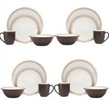 <strong>Noritake</strong> Kona 16 Piece Dinnerware Set