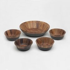 <strong>Noritake</strong> Kona Wood 5 Piece Salad Set
