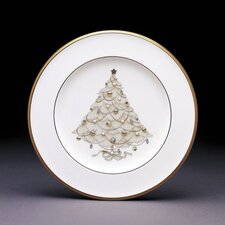 "<strong>Noritake</strong> Palace Christmas Gold 8.5"" Holiday Accent Plate"