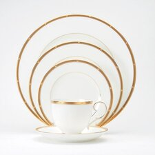 Rochelle Gold 20 Piece Dinnerware Set