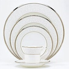 <strong>Noritake</strong> Silver Palace 5 Piece Place Setting