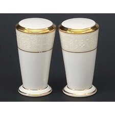"<strong>Noritake</strong> White Palace 3 1/2"" Salt & Pepper Shaker Set"